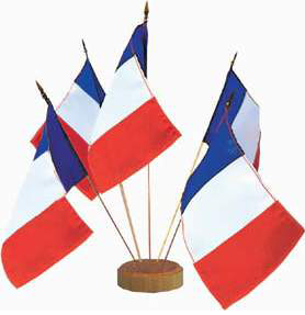 DRAPEAU DE TABLE
