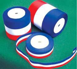 Rubans tricolores
