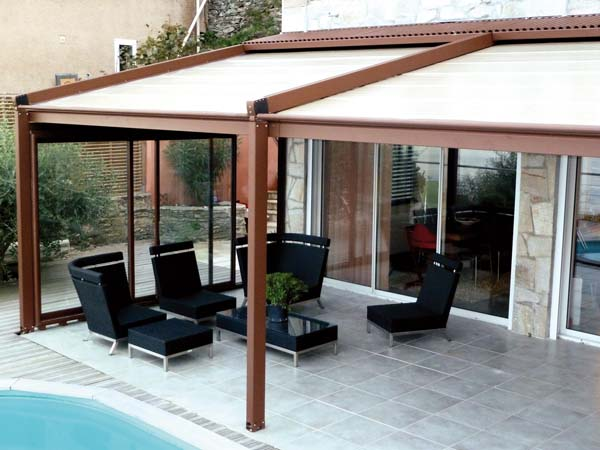 voilage exterieur pergola awesome installer toile ombrage with voilage exterieur pergola. Black Bedroom Furniture Sets. Home Design Ideas